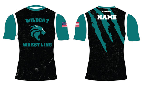 Royal Palm Beach Wildcat Sublimated Compression Shirt - 5KounT2018