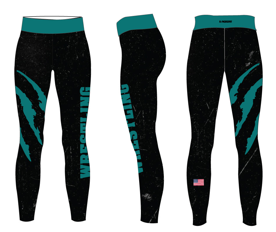 Royal Palm Beach Wildcat Sublimated Ladies Legging