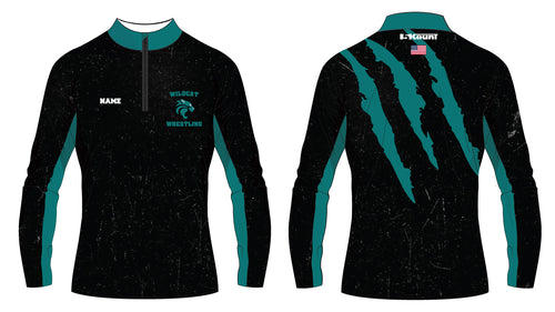 Royal Palm Beach Wildcat Sublimated Quarter Zip