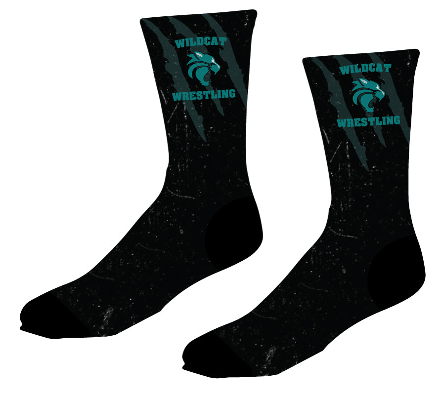 Royal Palm Beach Wildcat Sublimated Socks