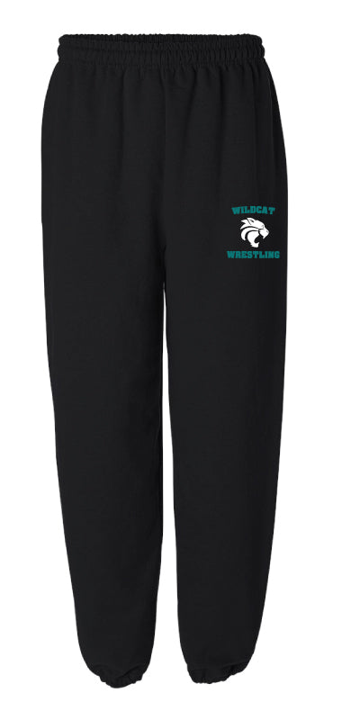 Royal Palm Beach Wildcat Cotton Sweatpants - Black - 5KounT