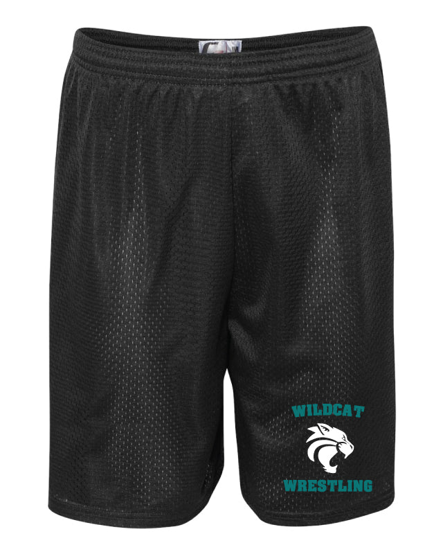 Royal Palm Beach Wildcat Tech Shorts - Black