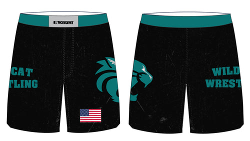 Royal Palm Beach Wildcat Sublimated Fight Shorts - 5KounT2018