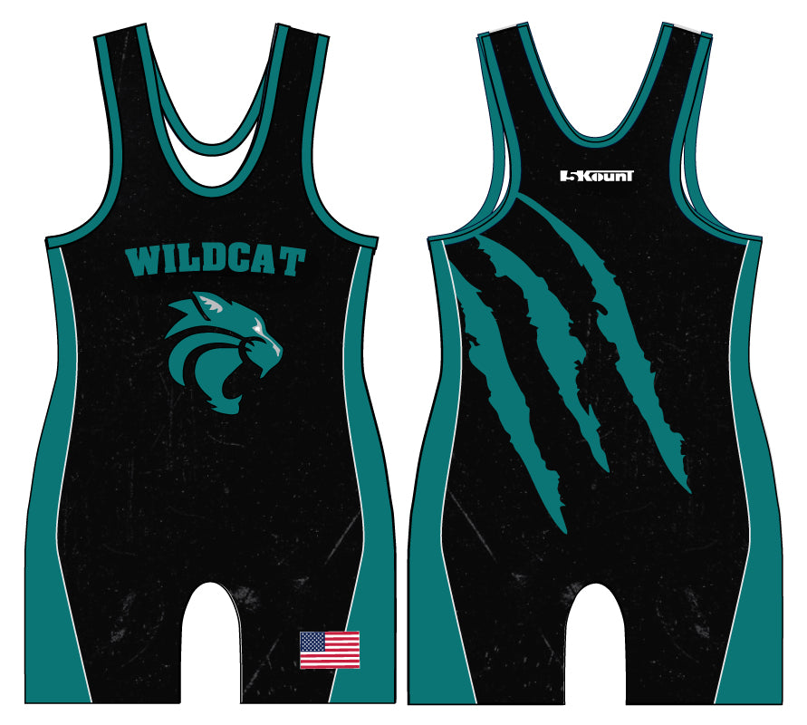 Royal Palm Beach Wildcat Sublimated Singlet - 5KounT2018