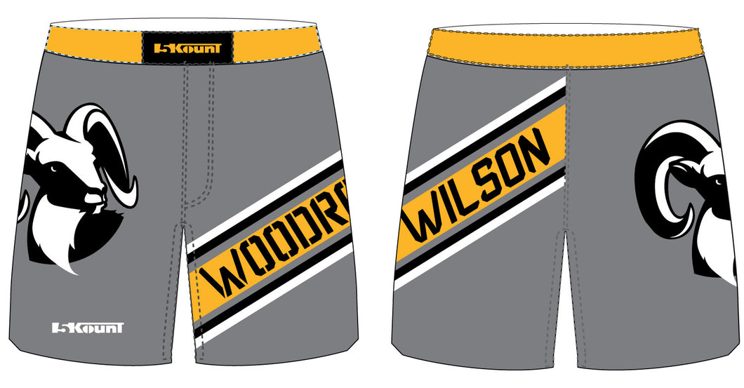 Woodrow Wilson Sublimated Fight Shorts - 5KounT2018
