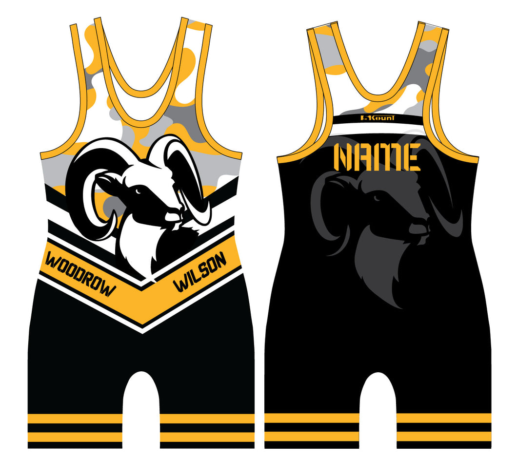 Woodrow Wilson Sublimated Singlet
