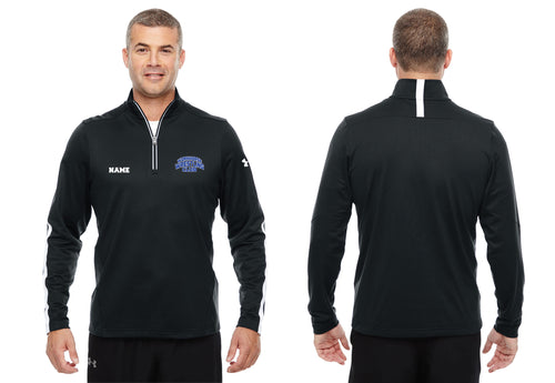 Workhorse Wrestling Club Under Armour Men's Qualifier 1/4 Zip - Black - 5KounT2018