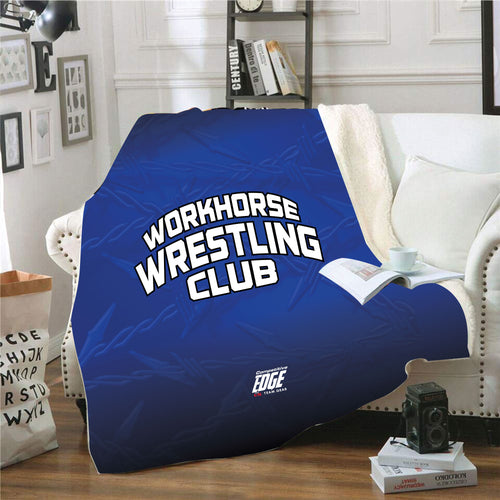 Workhorse Wrestling Club Sublimated Blanket - 5KounT2018