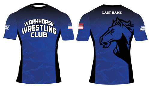 Workhorse Wrestling Club Sublimated Compression Shirt - 5KounT2018
