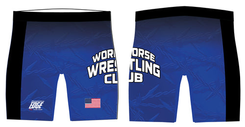 Workhorse Wrestling Club Sublimated Compression Shorts - 5KounT2018