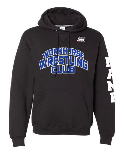 Workhorse Wrestling Club Russell Athletic Cotton Hoodie - Black - 5KounT2018