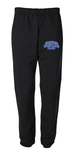 Workhorse Wrestling Club Cotton Sweatpants - Black - 5KounT2018