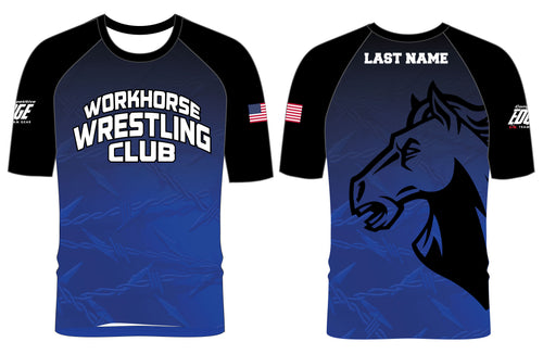 Workhorse Wrestling Club Sublimated Fight Shirt - 5KounT2018