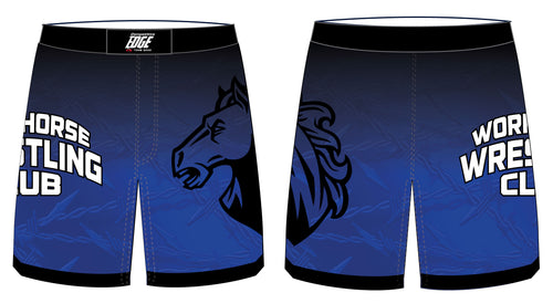 Workhorse Wrestling Club Sublimated Fight Shorts - 5KounT2018