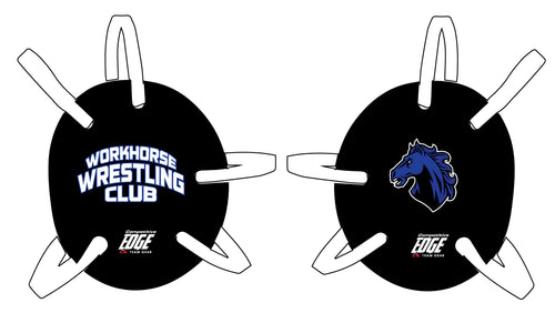 Workhorse Wrestling Club Headgear - Black - 5KounT2018