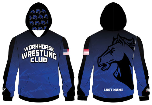 Workhorse Wrestling Club Sublimated Hoodie - 5KounT2018
