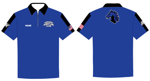 Workhorse Wrestling Club Sublimated Polo Shirt - 5KounT2018