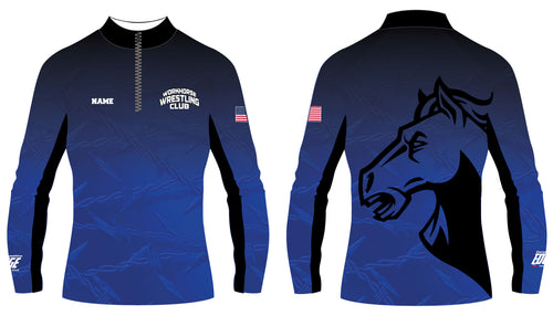 Workhorse Wrestling Club Sublimated Quarter Zip - 5KounT2018