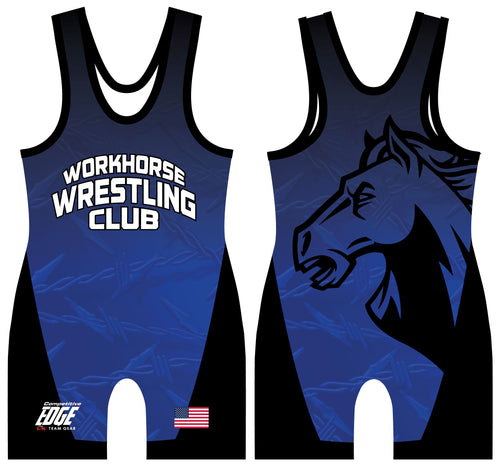 Workhorse Wrestling Club Sublimated Men's Singlet - 5KounT2018