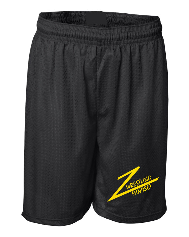 Wrestling Mindset Russell Athletic Tech Shorts - Black