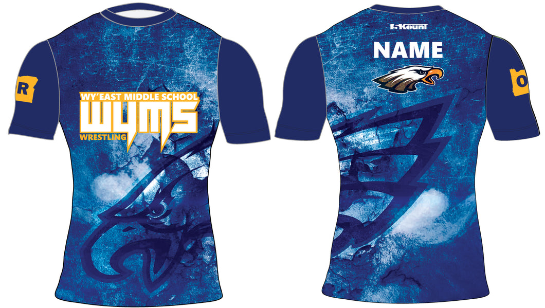Wy'East MS Sublimated Compression Shirt