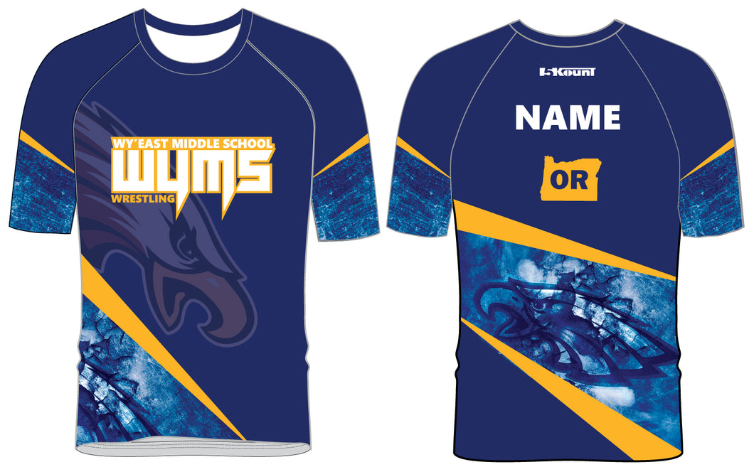 Wy'East MS Sublimated Fight Shirt - 5KounT2018