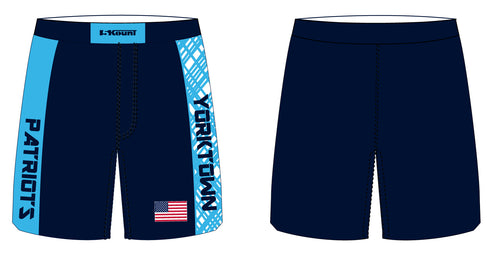 Yorktown Patriots Sublimated Fight Shorts