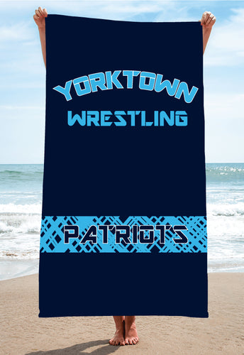 Yorktown Patriots Sublimated Beach Towel