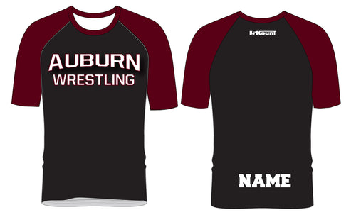 Auburn Wrestling Sublimated Fight Shirt