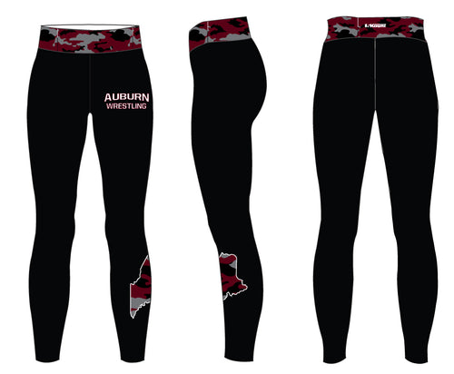 Auburn Wrestling Sublimated Ladies Legging
