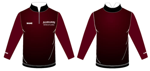 Auburn Wrestling Sublimated Quarter Zip