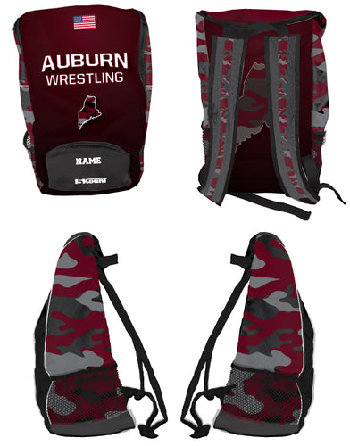 Auburn Wrestling Sublimated Backpack