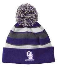 OB Wrestling Beanie - color block