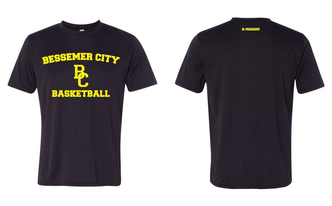 Bessemer City Basketball DryFit Performance Tee - Black or Green