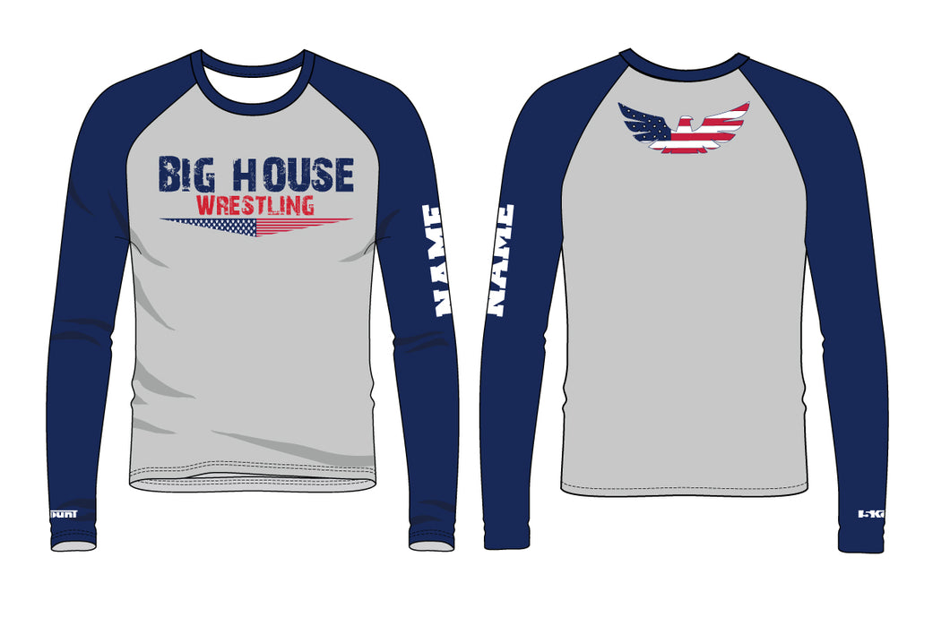 Big House Wrestling Sublimated Long Sleeve