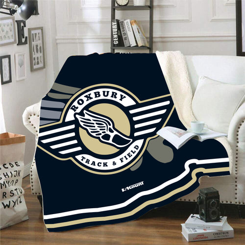 Roxbury Track & Field Sublimated Blanket - 5KounT