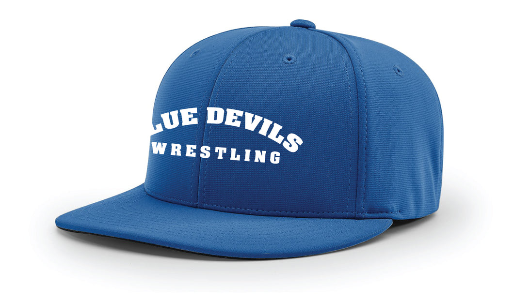 Blue Devils Wrestling FlexFit Cap - Royal