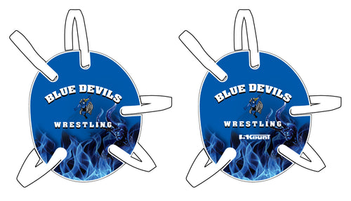 Blue Devils Wrestling Headgear with Decal