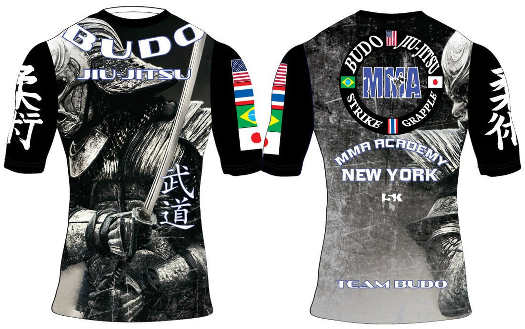 Budo Jiu-Jitsu Sublimated Compression Shirt - 5KounT