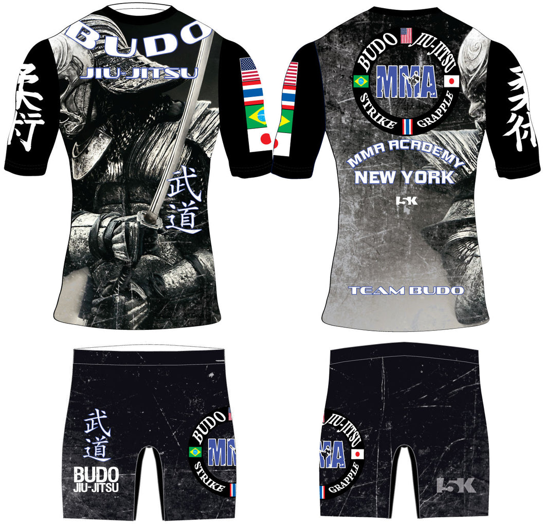 Budo Jiu-Jitsu Sublimated Compression Uniform Package