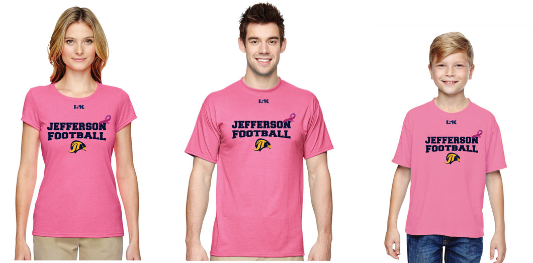 Falcons Football Tshirt - Breast Cancer Awareness