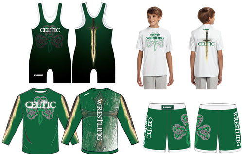 Celtic Wrestling Club Uniform Package