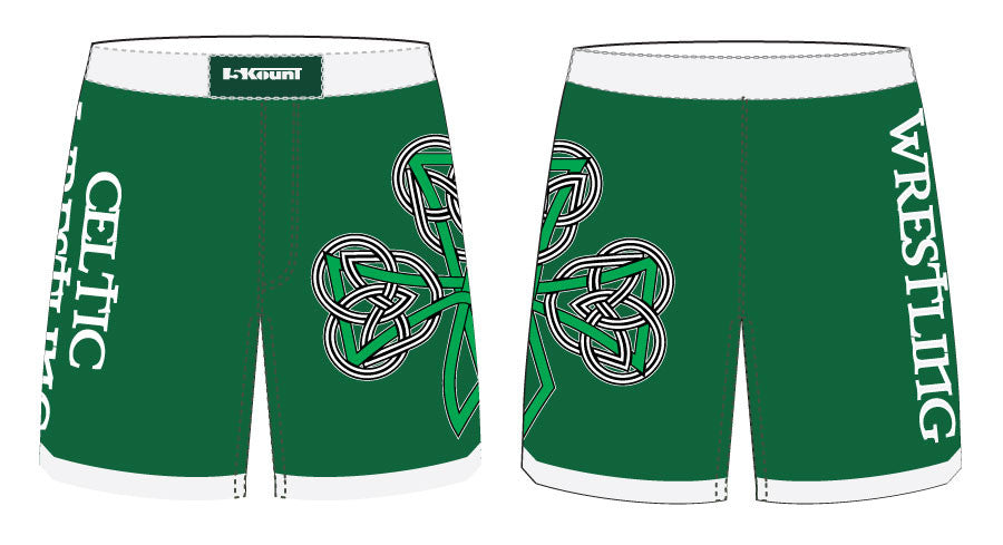 Celtic Sublimated Fight Shorts - 5KounT2018