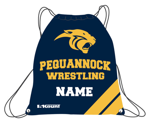 Pequannock Wrestling Sublimated Drawstring Bag - 5KounT2018
