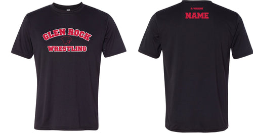 NEW Glen Rock Youth Wrestling DryFit Performance Tee