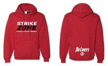 Strike Zone Russell Athletic  Cotton Hoodies - Black/Red