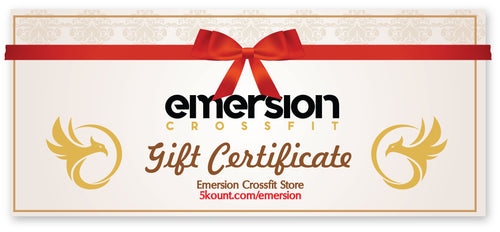 Emersion Crossfit Gift Certificate - 5KounT2018