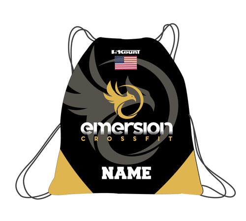 Emersion Crossfit Sublimated Drawstring Bag - 5KounT2018