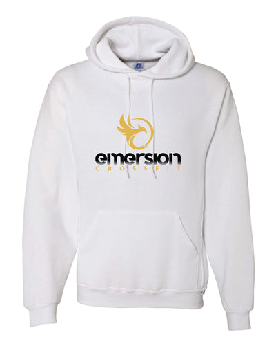 Emersion Crossfit Russell Athletic Cotton Hoodie - White - 5KounT2018