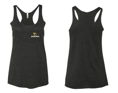 Emersion Crossfit Next Level Racerback Tanktop - Vintage Black - 5KounT2018